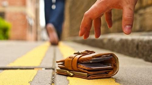 найденные деньги