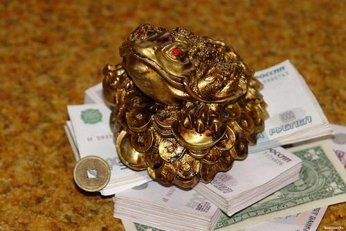 жаба и деньги
