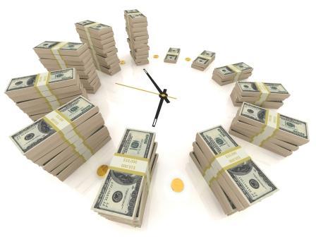 деньги через время