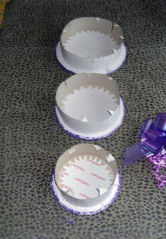 три яруса торта