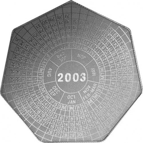 интересная монета 2003 года