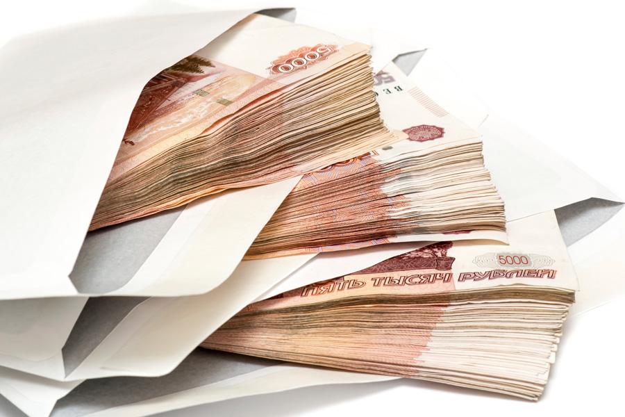 валюта в конверте