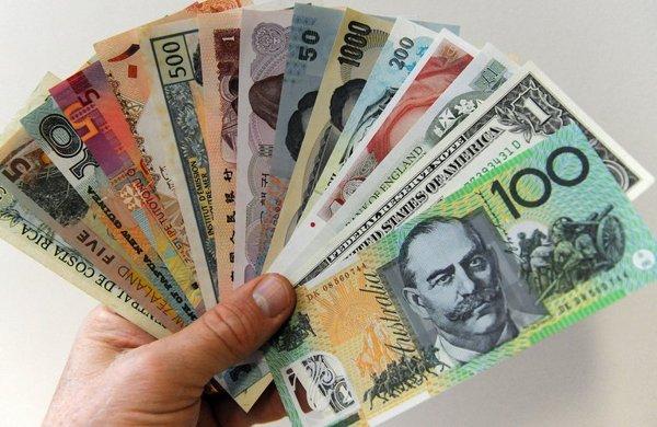 различная валюта