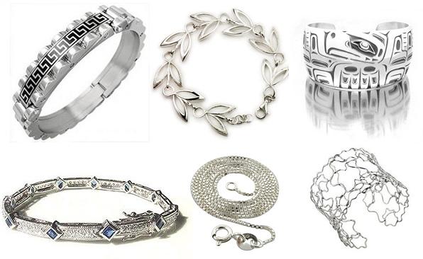 серебро драгоценности