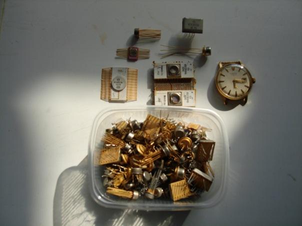 драгоценные металлы в радуоэлементах