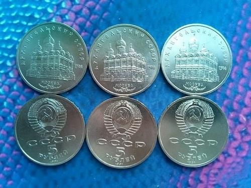 монеты UNC