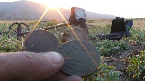 найденные монеты