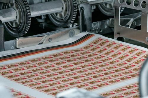 производство почтовых марок