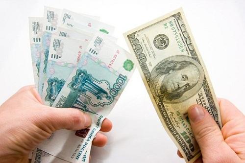 рубли или доллары