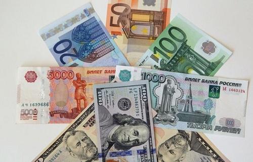 доллар евро и рубль