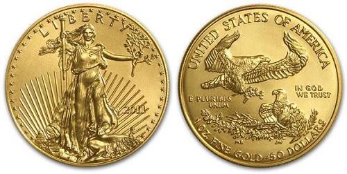 монета американский орел