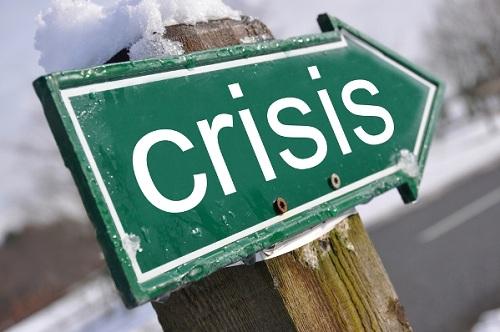 знак кризис
