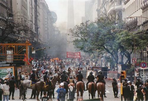 протесты аргентина