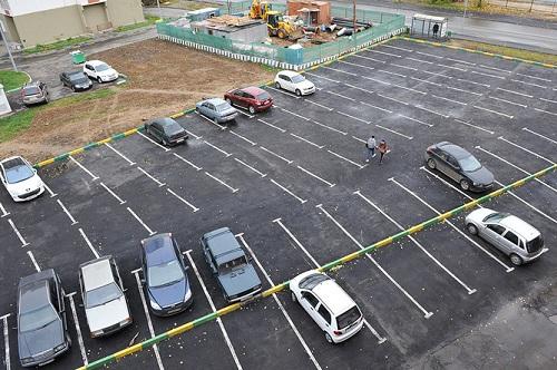 места для парковки