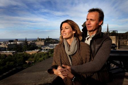 Эрнесто Бертарелли и супруга Кристи