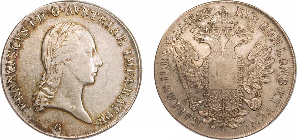 Талер с изображением Франца Иосифа I