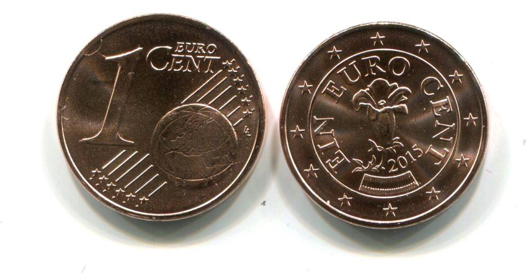 евро цент в Австрии