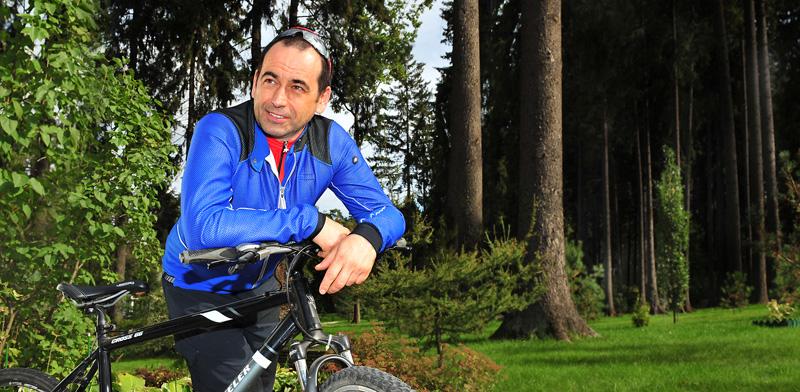 Роман Авдеев занимается спортом