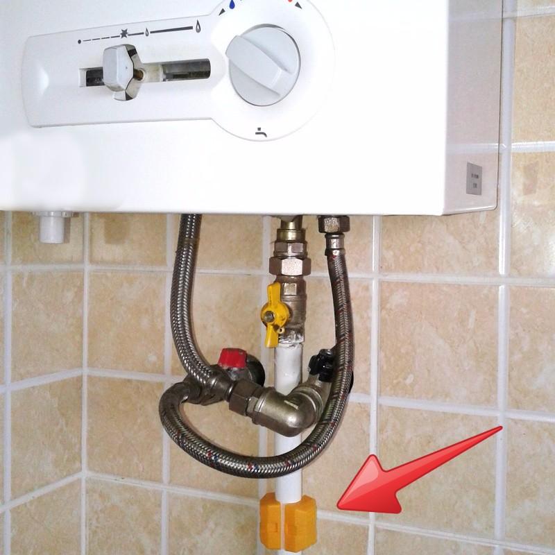 экономитель Gas saver на газопроводной трубе