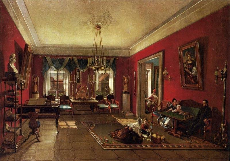 интерьер барского дома