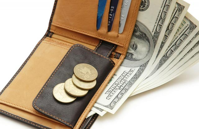 кошелек с фальшивками