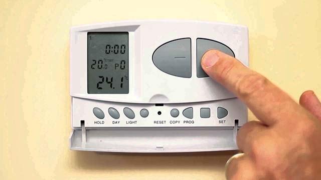 термостат для экономии газа