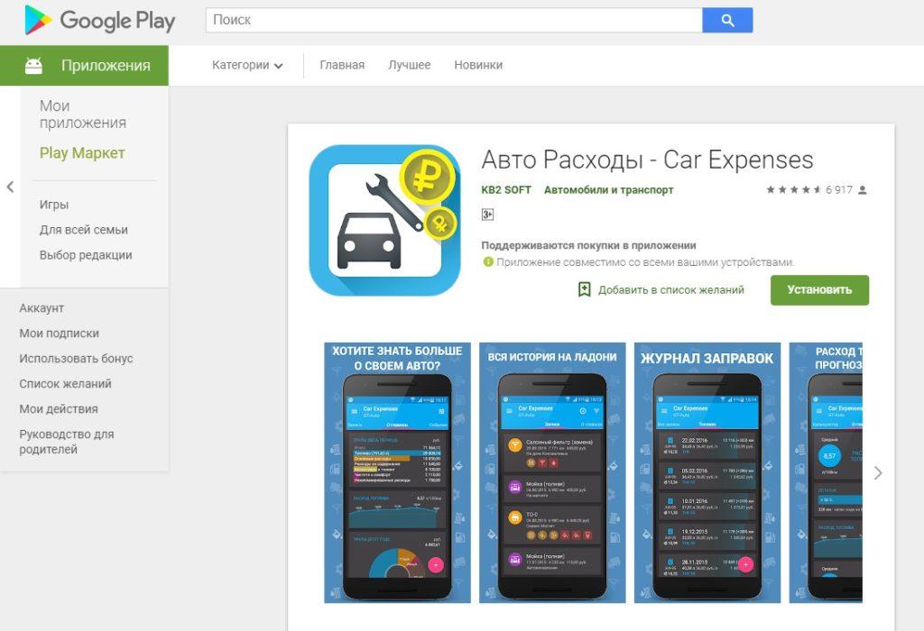 Авто Расходы - Car Expenses