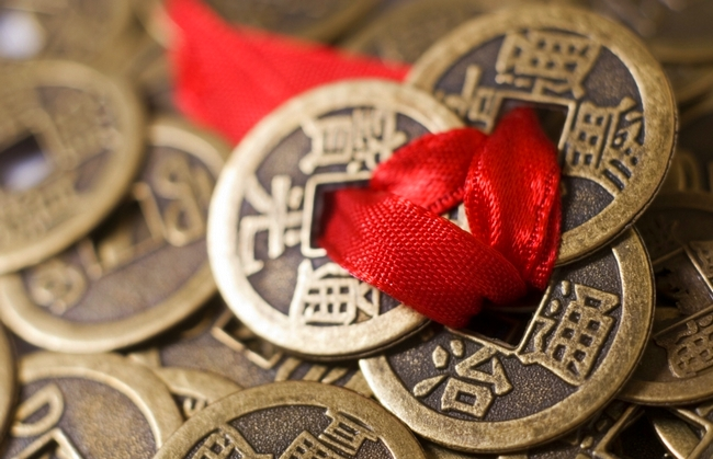 Китайские монеты фен шуй